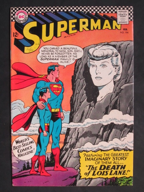 Superman (1939 series) #194 FN/VF