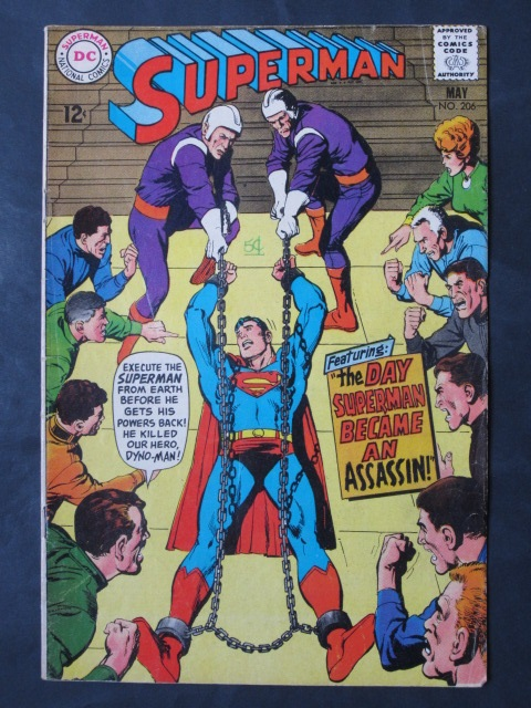 Superman (1939 series) #206