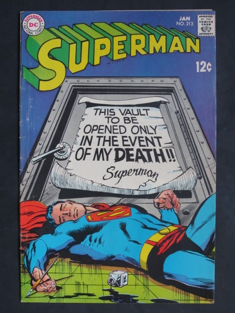 Superman (1939 series) #213