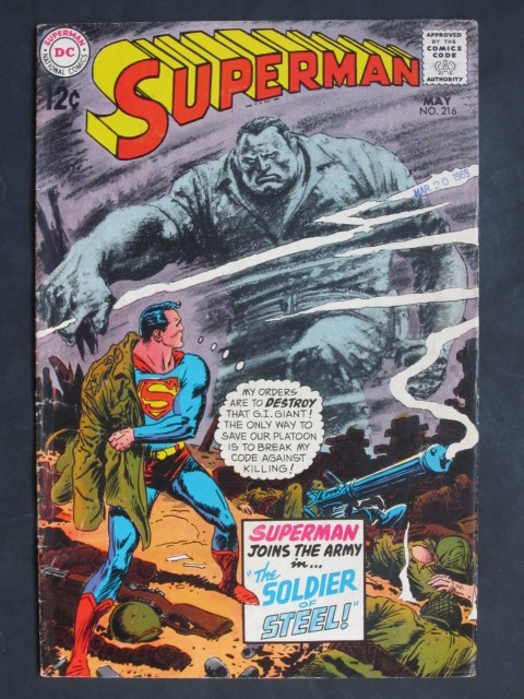 Superman (1939 series) #216
