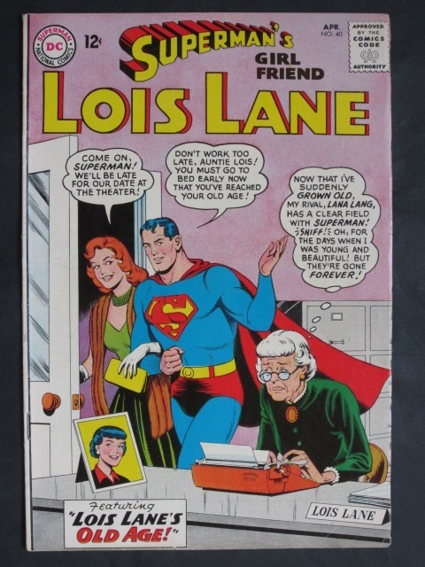 Superman's Girlfriend Lois Lane  #40 VF-