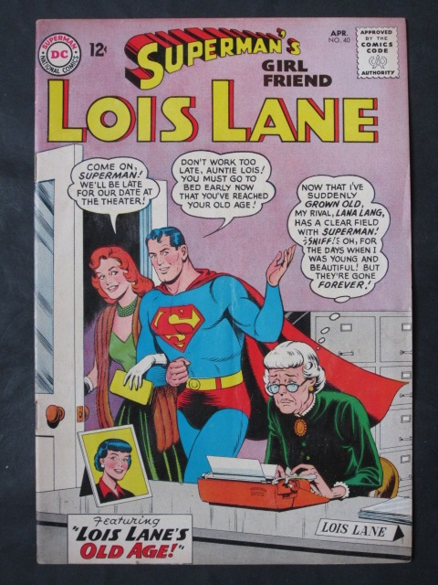 Superman's Girlfriend Lois Lane  #40 FN-