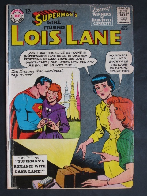 Superman's Girlfriend Lois Lane  #41