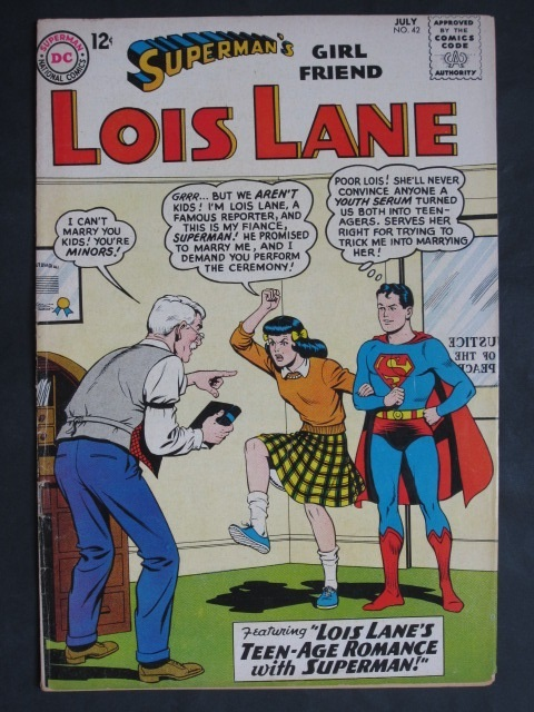 Superman's Girlfriend Lois Lane  #42