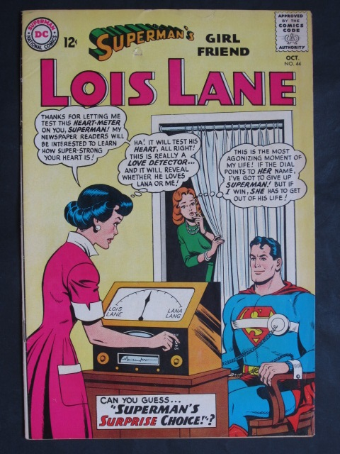 Superman's Girlfriend Lois Lane  #44