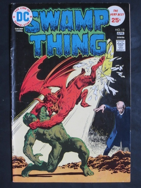 Swamp Thing (1972 series) #15 FN
