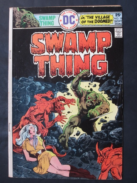 Swamp Thing (1972 series) #18 FN-