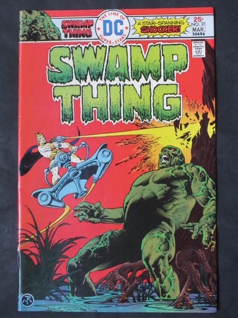 Swamp Thing (1972 series) #21
