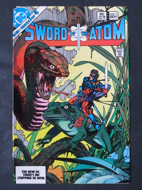 Sword of The Atom #1-4 Complete mini-series (chip)