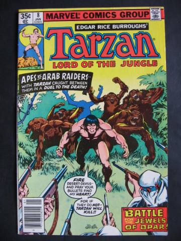Tarzan Lord Of The Jungle  #8