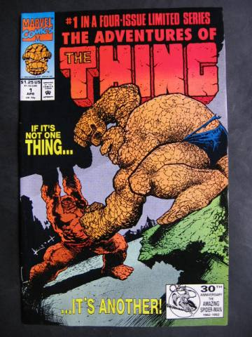 The Adventures Of The Thing #1-4 Complete mini-series