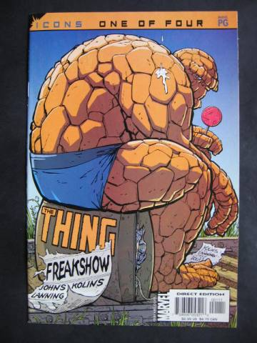 The Thing: Freakshow #1-4 Complete mini-series