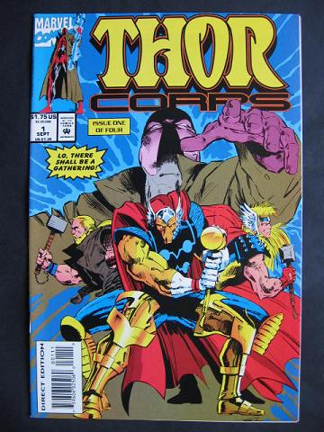 Thor Corps #1-4 Complete mini-series