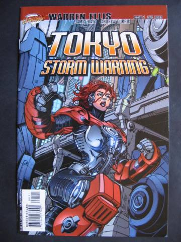 Tokyo Storm Warning #1-3 Complete mini-series