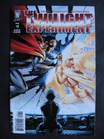 The Twilight Experiment #1-6 Complete mini-series