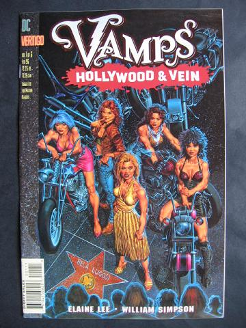 Vamps: Hollywood And Vein #1-6 Complete mini-series