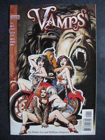Vamps #1-6 Complete mini-series