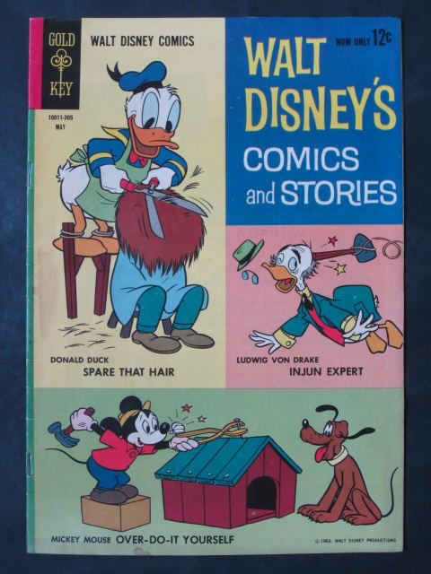 Walt Disney's Comics and Stories #272 Carl Barks