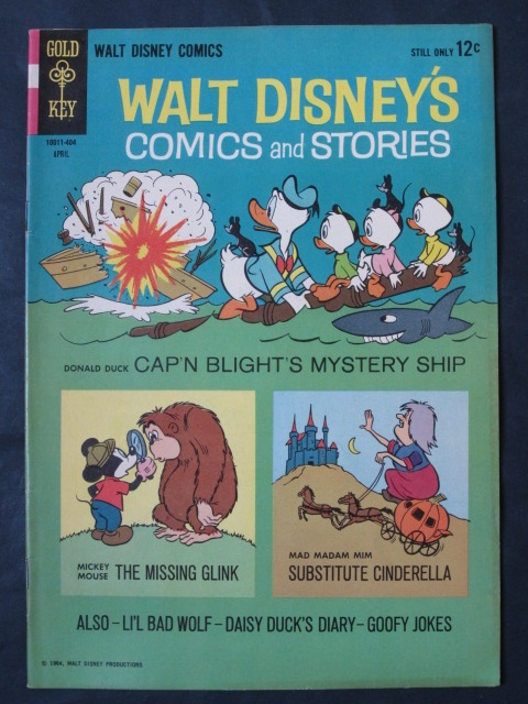 Walt Disney's Comics and Stories #283 Carl Barks