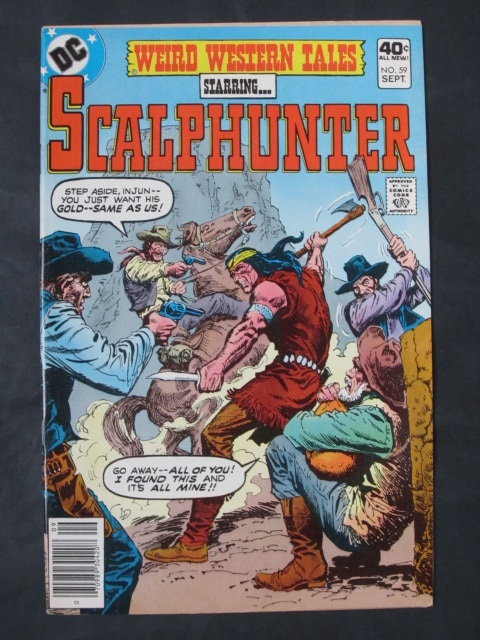 Weird Western Tales #59 Scalphunter
