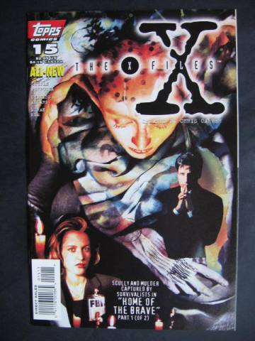 X-Files #15-16 Set of 2 comics