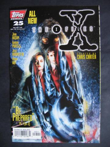 X-Files #25-26 Set of 2 comics