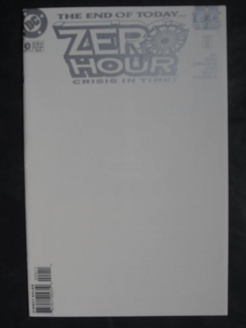 Zero Hour: Crisis In Time #0-4 Complete mini-series