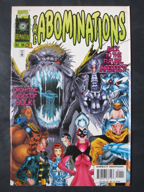 Abominations #1-3 Complete mini-series