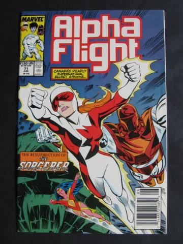 Alpha Flight (1983 series)  #71
