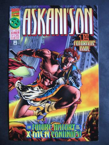 Askani'son #1-4 Complete mini-series (Cable)