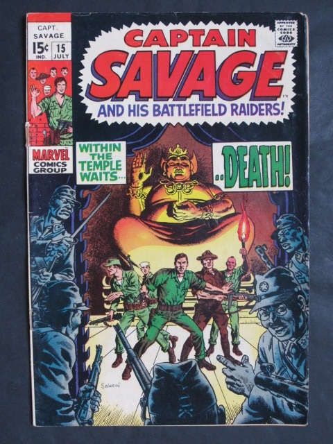 Captain Savage and His Battlefield Raiders #15