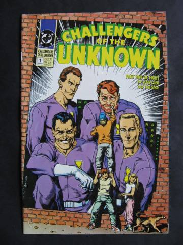 Challengers of the Unknown  #1-8 Complete mini-series