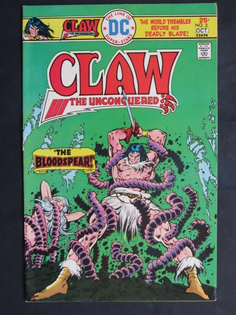 Claw The Unconquered (1975 series)  #3