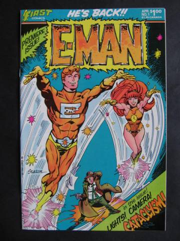 E-Man #1-25 Complete series