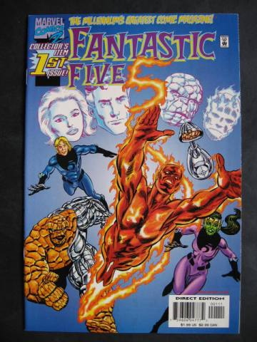 Fantastic Five #1-5 Complete mini-series