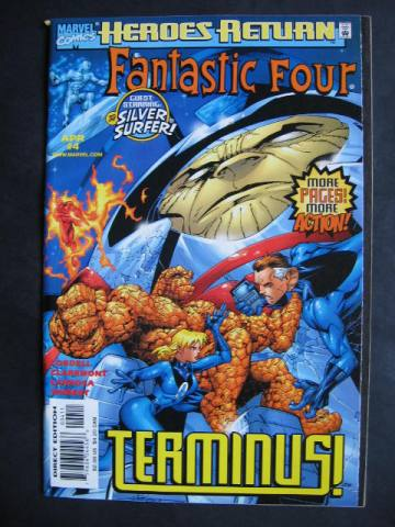 Fantastic Four (1998 series)  #4