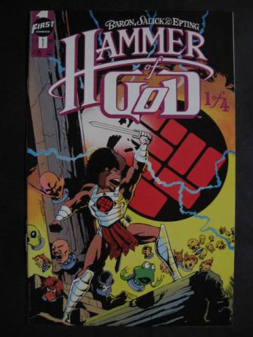 Hammer Of God #1-4 Complete mini-series