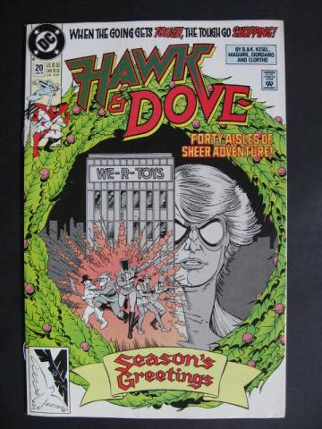 Hawk and Dove (1989 series) #20