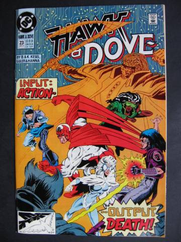 Hawk and Dove (1989 series) #23