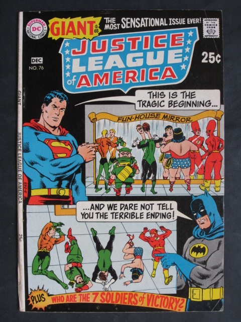 Justice League Of America (1960 series)  #76