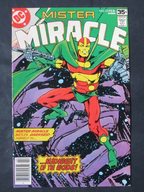 Mister Miracle (1971 series) #22